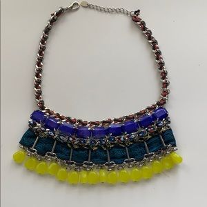 Zara multicolor beaded necklace